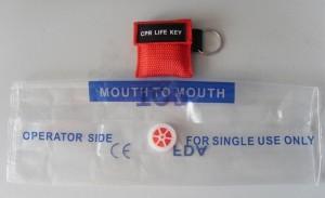 mascherina per rianimazione tascabile