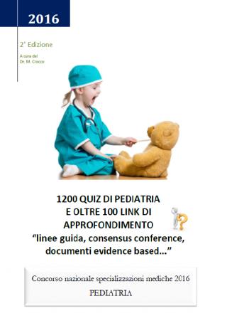 libro di preparazione al test di pediatria